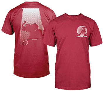 Half-Tone State Pachyderm Comfort Color Tee