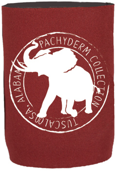 Pachyderm Collection Stamp Can Koozie