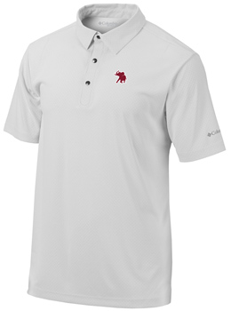 Columbia Golf Omni-Freeze Zero Snap Placket Pachyderm Polo