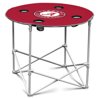 Folding Round Tailgate Table