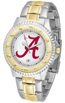 Competitor Two-Tone Metal Band Script A Watch
