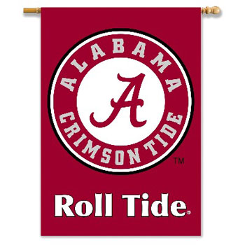 2-Sided Athletic Seal'Roll Tide Banner