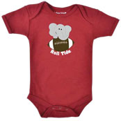Elephant/Football Infant Onesie