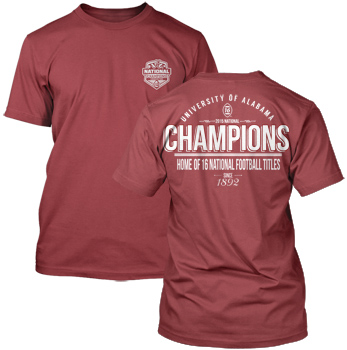 National Champs Retro Comfort Colors Tee