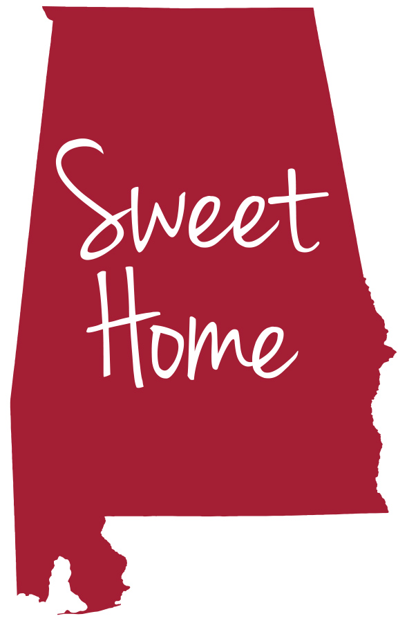 Sweet home alabama decal