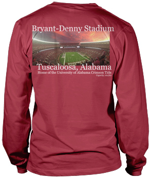 Long Sleeve Bryant-Denny Stadium