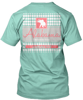 Lattice Block Pachyderm Comfort Colors Tee