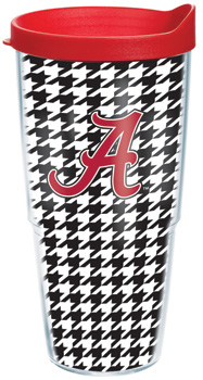 Houndstooth Wrapped Tervis Tumbler