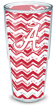 Chevron Design 24oz Wrapped Tervis Tumbler