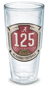 125th Football Anniversary Emblem 24oz Tervis Tumbler