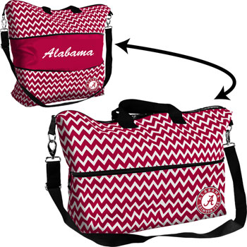 Chevron Expandable Tote Bag