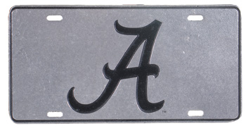 Script A Pewter Tag