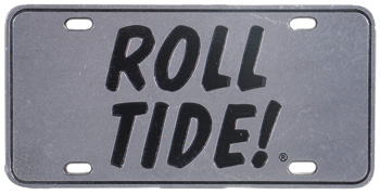 ROLL TIDE Pewter Tag