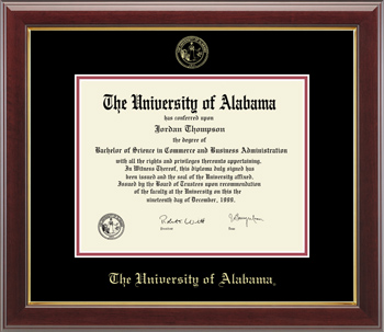 Gallery Gold Diploma Frame
