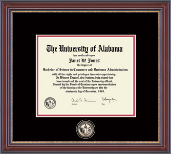 Masterpiece Edition Diploma Frame