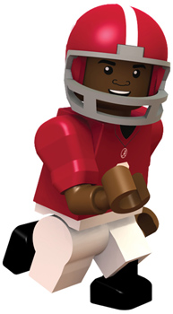 #9 Amari Cooper Lego Type Mini Figure