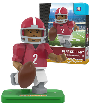 #2 Derrick Henry Lego Type Mini Figure