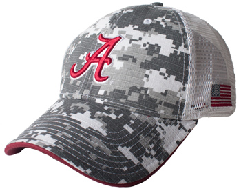 Three-Color UA Bar Mesh Back Cap
