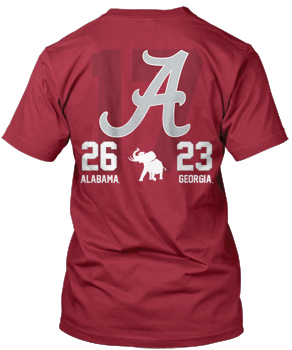 National Champs CFP Endrun Score Tee