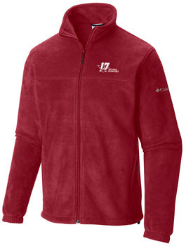 National Champs Columbia Flanker Fleece Jacket - Crimson