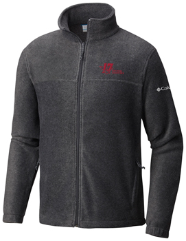 National Champs Columbia Flanker Fleece Jacket - Forged Iron