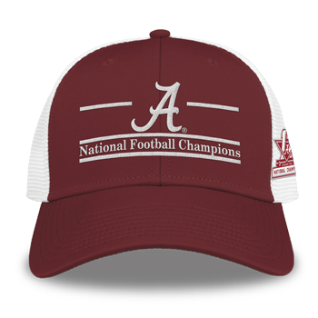 National Champs Split-Bar Diamond Mesh SnapBack Cap