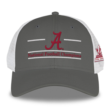 National Champs Split-Bar Trucker SnapBack Cap