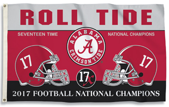 National Champs 3' x 5' Flag