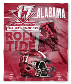 National Champs Raschel Blanket