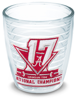 National Champs Logo Tervis 12oz Cup