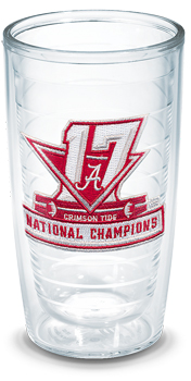 National Champs Logo Tervis 16oz Tumbler