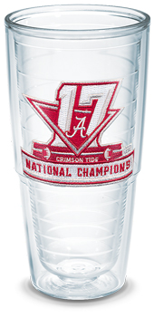National Champs Logo Tervis 24oz Tumbler