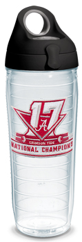 National Champs Logo Tervis 24oz Water Bottle