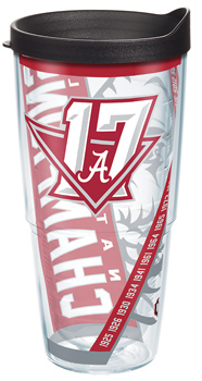 National Champs Wrapped 24oz Tervis Tumbler