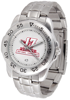 National Champs Men's Sports Steel Watch