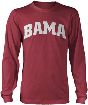 Long Sleeve BAMA Tee