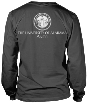 Capstone Alumni Comfort Colors Long Sleeve Pocket Tee