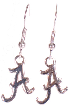Script A Dangle Earrings