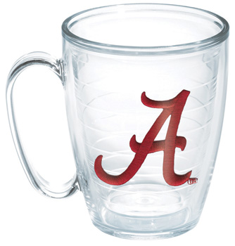 Script A 16oz Tervis Mug with Lid