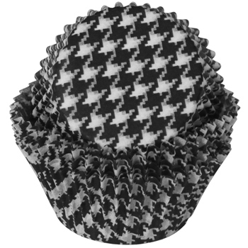 Houndstooth Muffin Tins