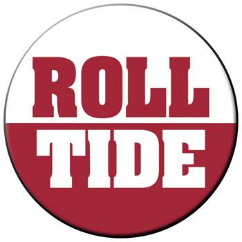 Roll Tide Gameday Button
