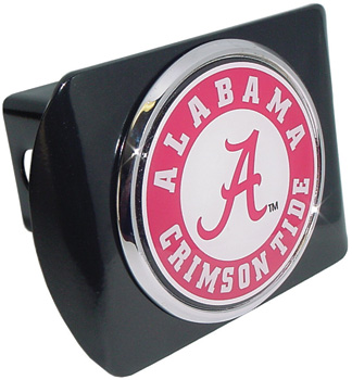 Athletic Seal Chrome Trailer Hitch Cover