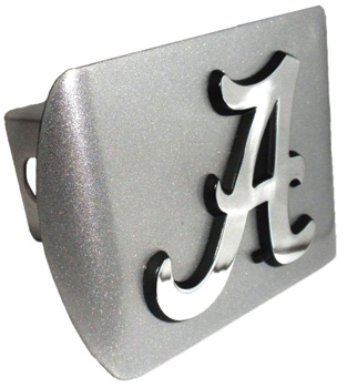 Script A Chrome Trailer Hitch Cover