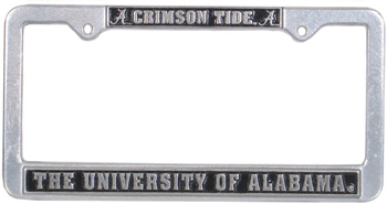 Crimson Tide Pewter Tag Frame