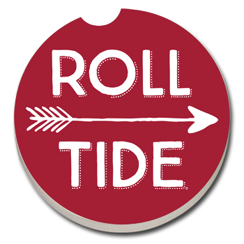Roll Tide/Arrows Car Coaster