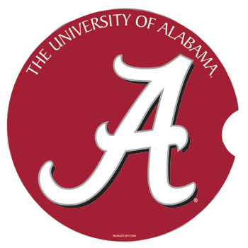 The University of Alabama/Script A Car Coaster