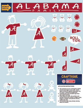 Family Decal Sheet