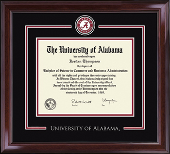 Athletic Seal Spirit Diploma Frame