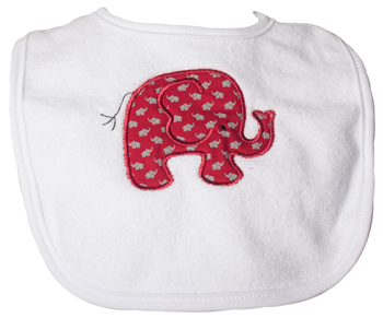 Infant Elephant Lil Elephants Bib
