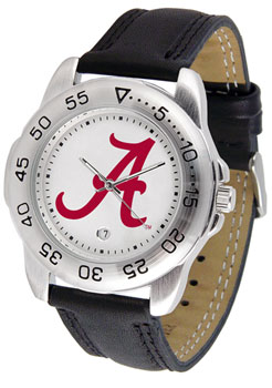 Men's Sport Leather Band Watch